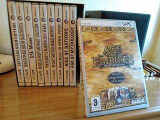 Pack de juegos clásicos PC