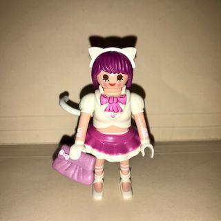 Playmobil chica gata kitty catgirl