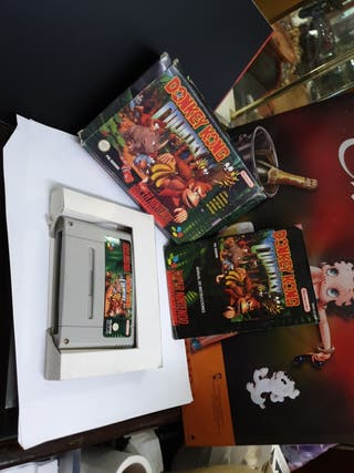 DONKEY KON COUNTRY SUPER NINTENDO SNES