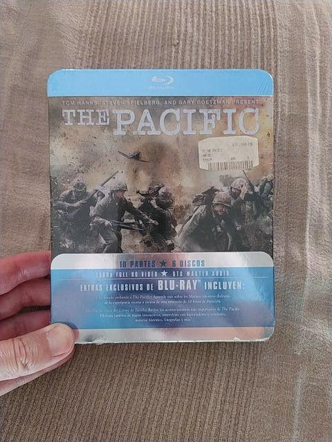 The pacific Serie completa Bluray Nueva