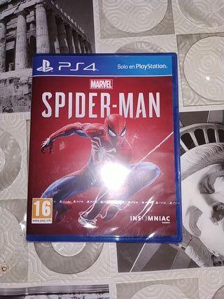 Spider-man Marvel PS4