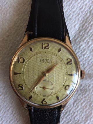 Reloj antiguo suizo