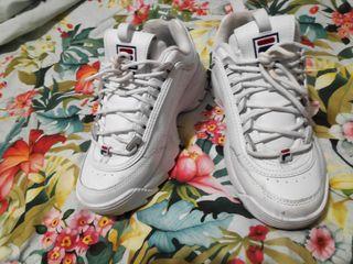 zapatillas blancas Fila