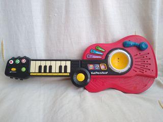 vtech. guitarra piano y batería, regalo pianito