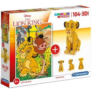 PUZZLE 3D THE KING