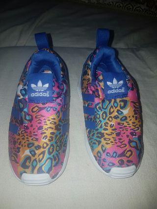 zapatillas adidas niño o niña talla 25