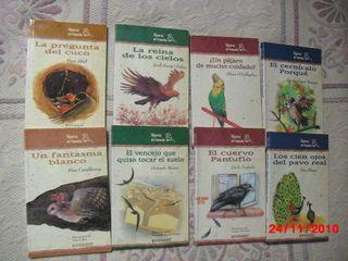 8 LIBROS:PAJAROS DE CUENTO 8 AÑOS X 5€ TODOS