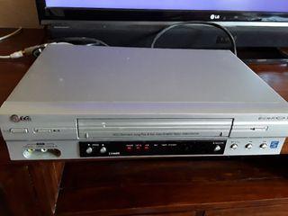 Reproductor VHS LG-modelo LV4685