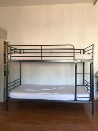 2 Literas IKEA: 1 gris 1 blanco