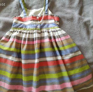 Vestido 3-4 años verano