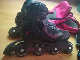 Patines Roller 42 con protecciónes