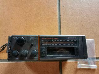 Radio-Cassette PHILIPS años 80. ¡¡Funciona!!