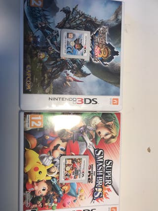 2 juegos 3DS