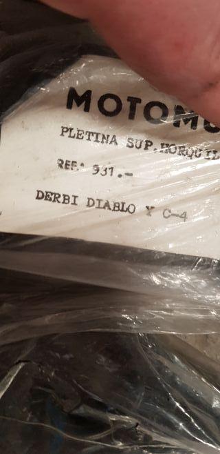 PLETINA SUPERIOR DERBI DIABLO
