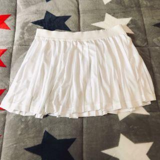 Falda de cintura alta blanca de Ellesse