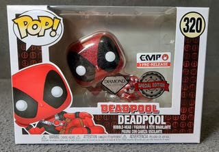 Funko Pop Marvel, DeadPool Diamond