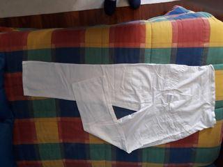 Pantalones lino premama t40