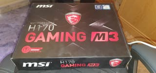 Placa Base MSi H170 Gaming M3