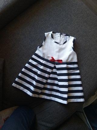 Vestido NUEVO Little celebs 12 meses. a estrenar