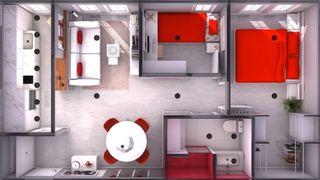 Casa prefabricada de 45 m2
