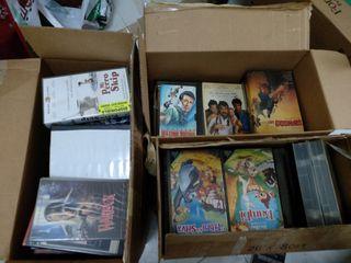 Lote 200 películas VHS más reproductor