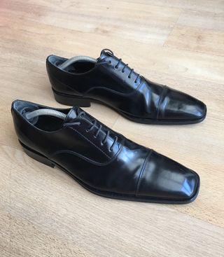 Zapatos Negros hombre Caramelo talla 42 caballero