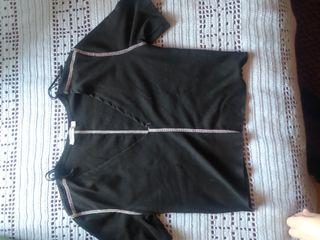 Top negro de Zara