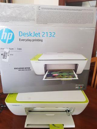 impresora HP sin cartuchos