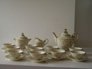 Juego porcelana Limoges