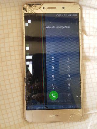 Huawei Y7 con pantalla rota