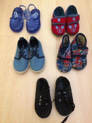 Lote zapatos número 23