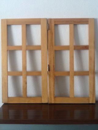 4 Ventanas de madera