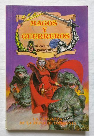 Libro: La venganza de la reina de dragones