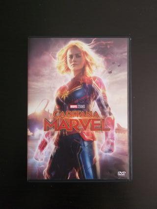 Película Capitana Marvel en DVD blue-ray original