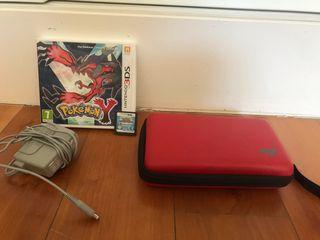 3DS XL Roja + 3 juegos