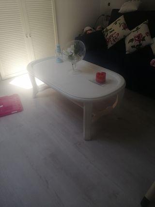 mesa madera maziza 1.10 x 63cm