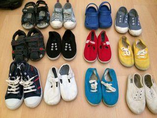 Lote zapatos número 25