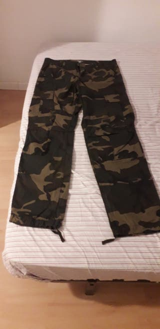 Pantalón militar carhartt,talla 32/34(Hombre)