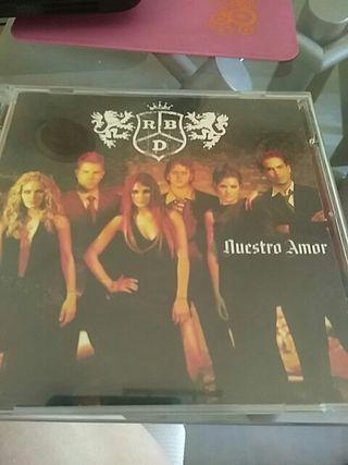 CD Nuestro Amor de RBD