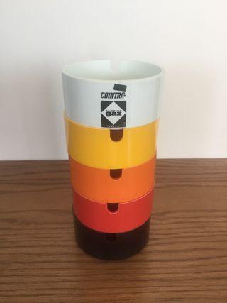 Ceniceros plástico vintage 5 colores