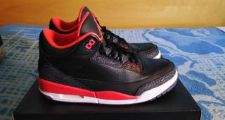Nike Air Jordan 3 Retro 'Crimson', EU45 - US11.