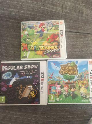 Juegos Nintendo 3DS 15 €/u