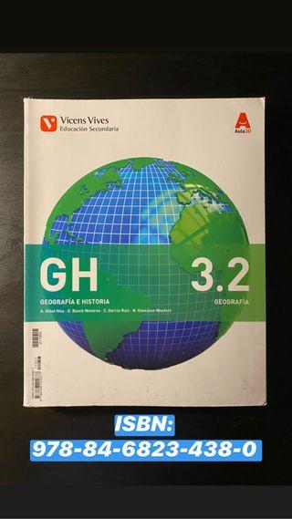 Libro de texto Geografía e Historia 3 ESO.