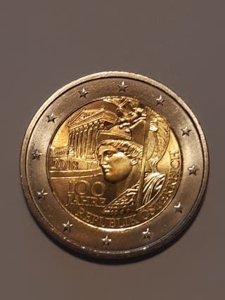 Moneda conmemorativa 2€ AUSTRIA 2018