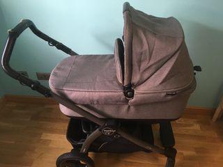 Carrito Cochecito bebe. Capazo, grupo 0+ y silla.