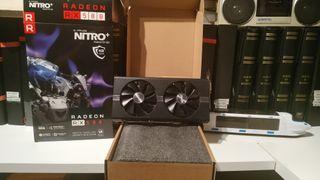 Tarjeta AMD Sapphire Nitro+ RX 580 4GB RX580
