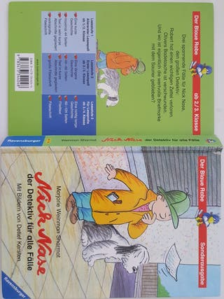 Nick Nase, dedectivo para niños, libro, 7 años