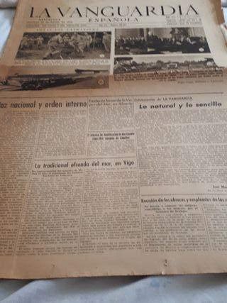 La Vanguardia Española Agosto 1944