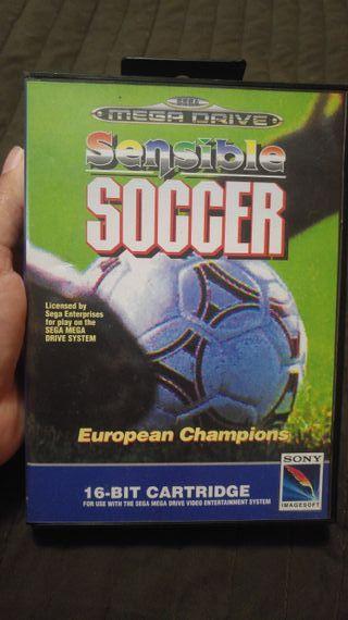 Soccer Sensible European Champions SegaMega Drive1