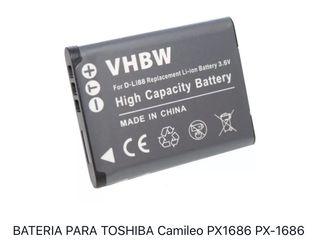 Batería Toshiba Camileo PX1686
